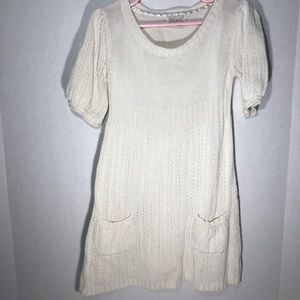Beautiful Ivory Dress from Old Navy, XS, GUC